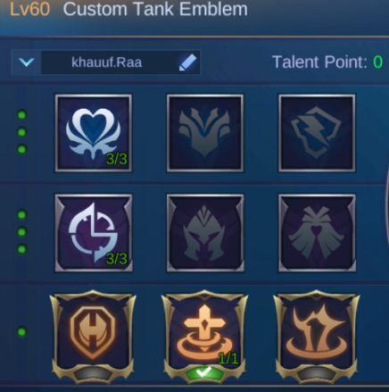 Mobile Legends Khufra Guide, Best Emblem Khufra