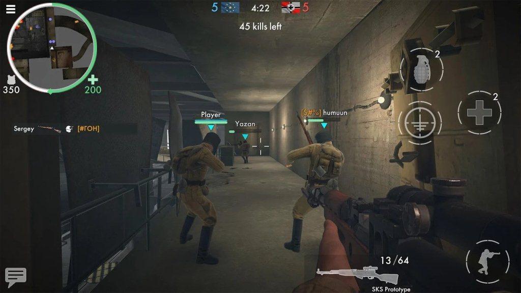 World War Heroes Guide Team Battle