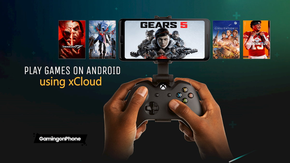 Play games on android using xcloud