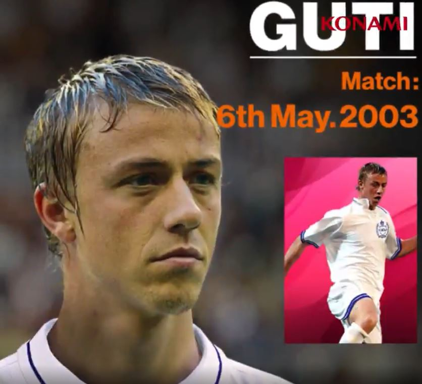 Real Madrid Iconic Moments Guti PES