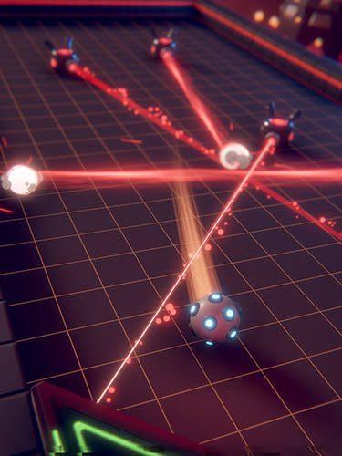 Flaming Core Guide Destroy Bots