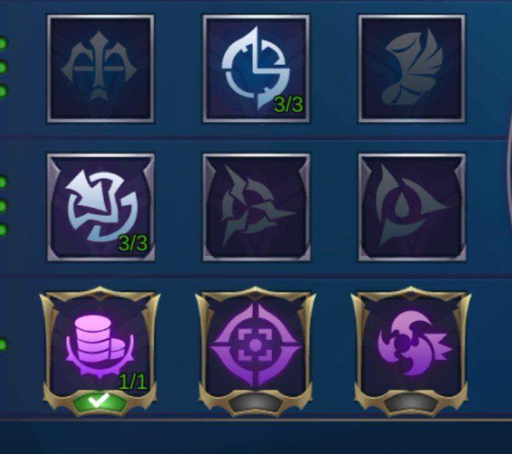 Mobile Legends Khaleed Emblem sets