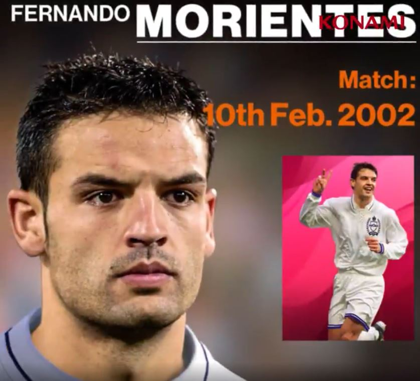 Real Madrid Iconic Moments Morientes PES