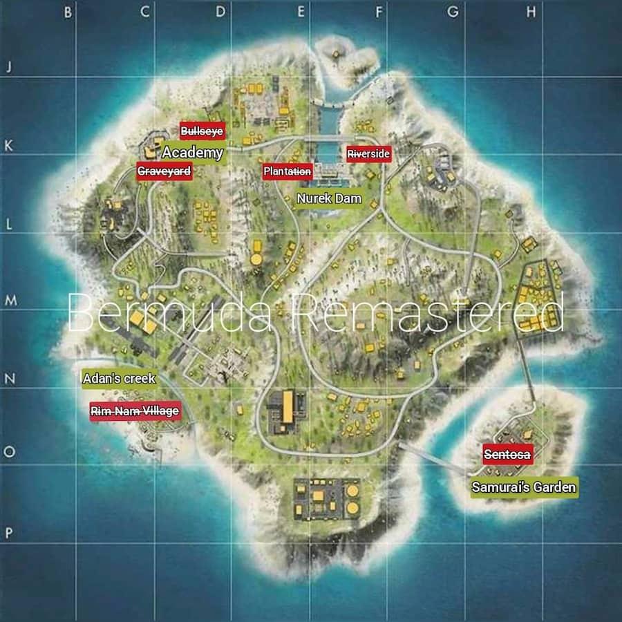 Bermuda map remastered 2.0
