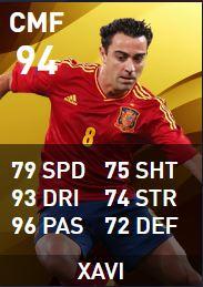 National Legends in PES:Xavi