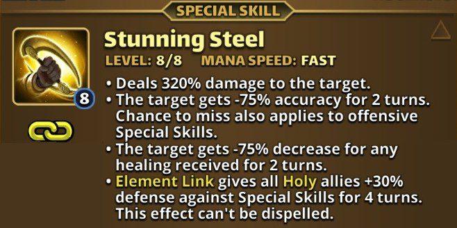 Bai Yeong's Special Skill, Stunning Steel