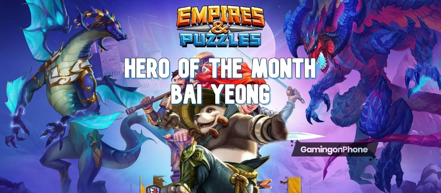 Hero of the Month - Bai Yeong