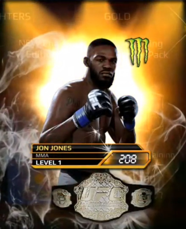UFC Mobile best fighters, Best fighters in UFC Mobile, jon Jones