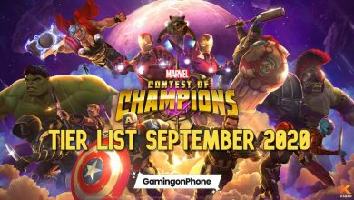 Photo of Marvel Contest of Champions September 2020 Tier List
