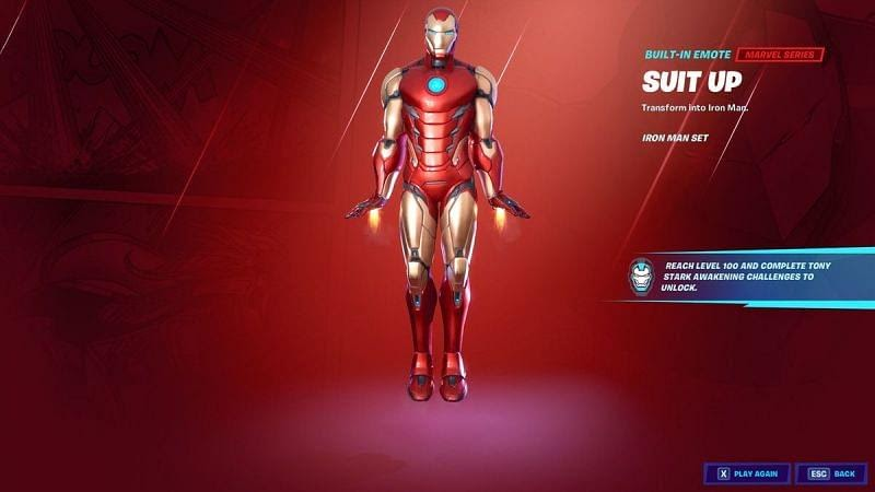 Fortnite Season 4 Challenge: How to unlock Iron Man through Awakening Challenges
