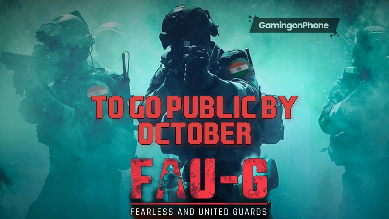 FAU-G october end