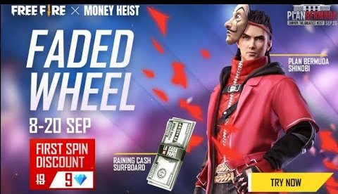 Free Fire × Money Heist