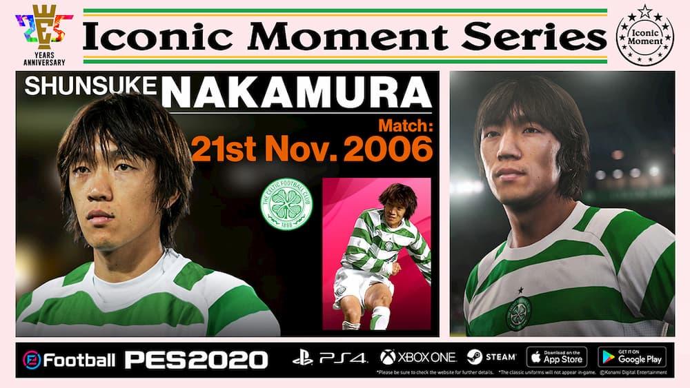 Celtic Iconic Moments Nakamura