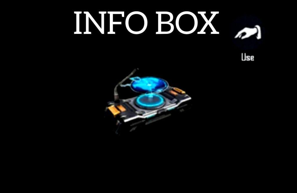 Info Box - Free Fire utility items