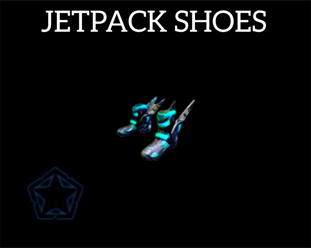 Jetpack shoes - Free Fire utility items