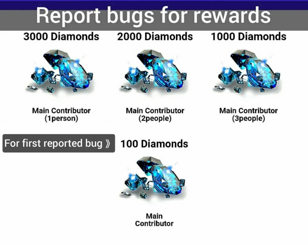 Bugs for Rewards
