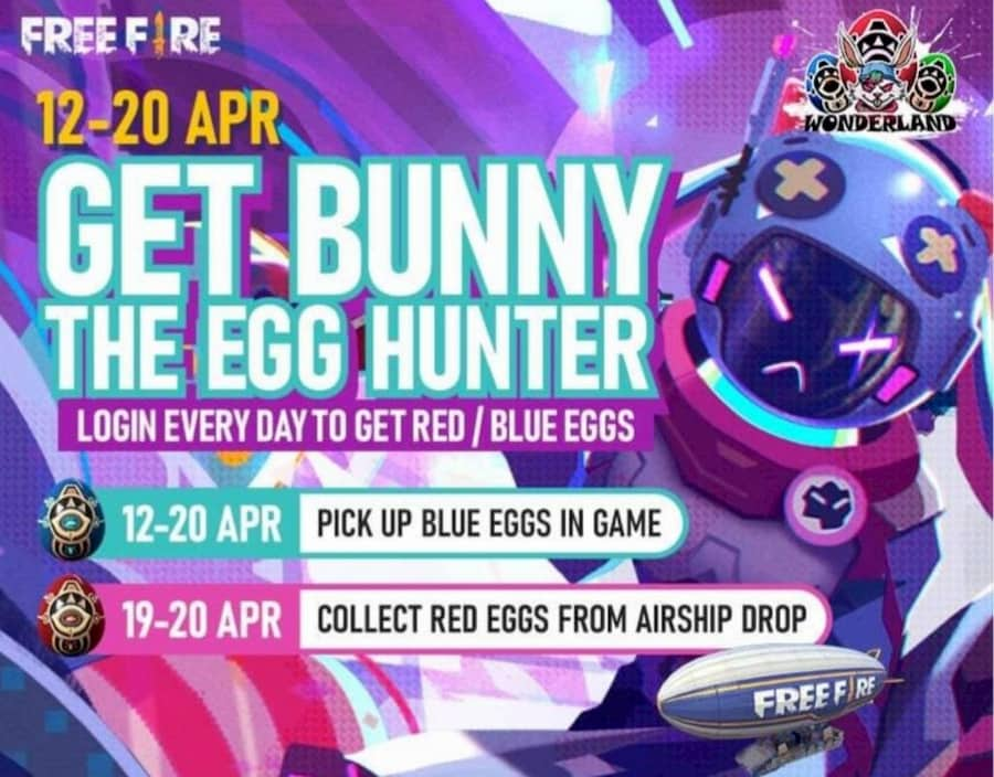 egg hunter Free Fire