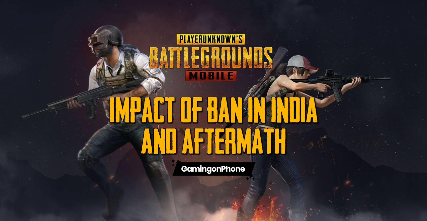 PUBG Mobile ban in India and its impact