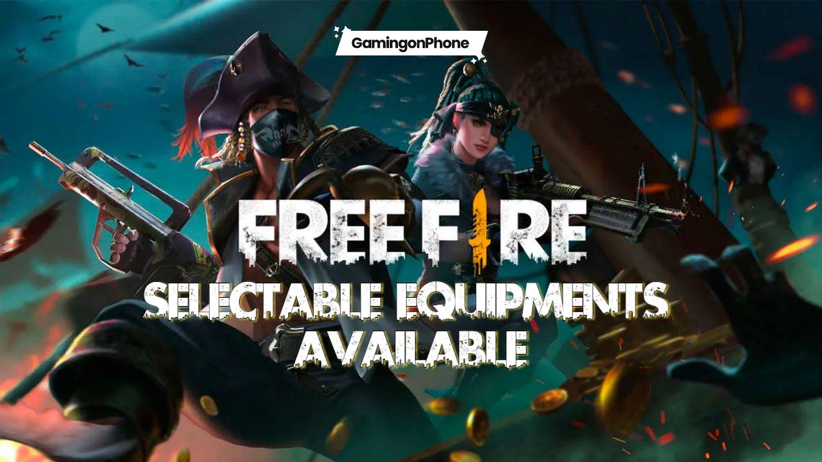 Free Fire Selectable Equipment Loadouts