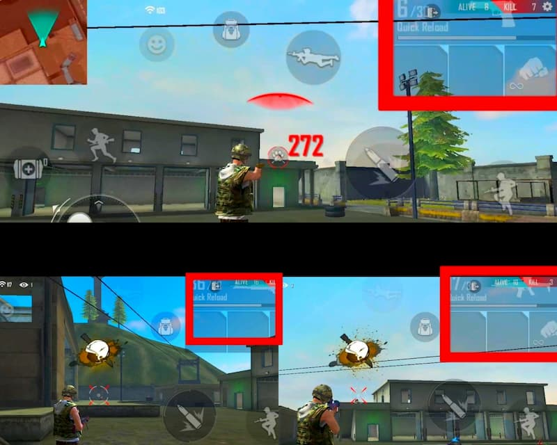 Free Fire dragshots tips