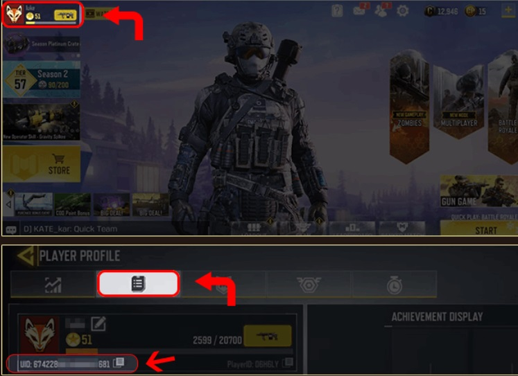 COD Mobile BiSH emote redeem code