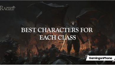 Photo of Raziel Dungeon Arena: Best characters for each class