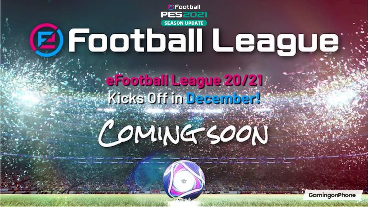 PES 2021 efootball league