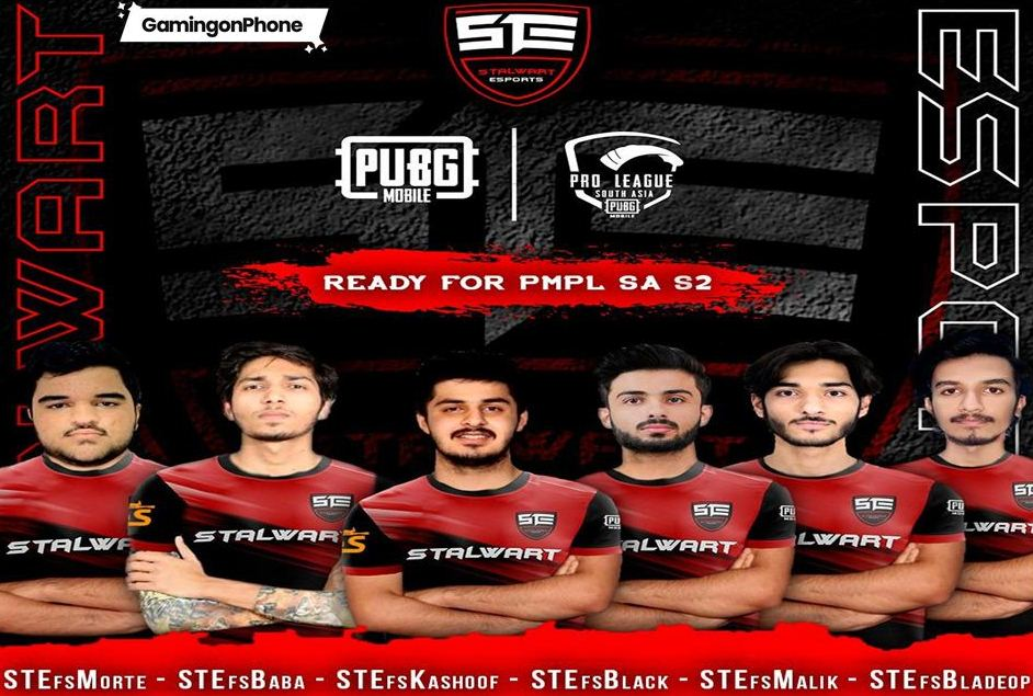 Stalwart Esports PMPL South Asia Season 2