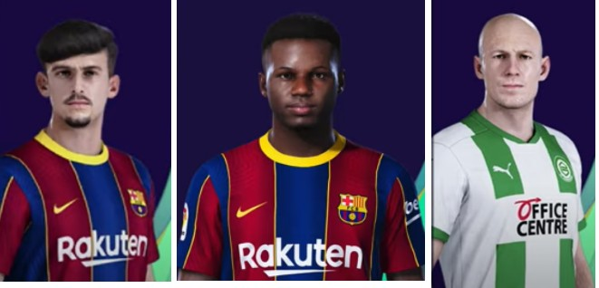 pes 2021 datapack 2.0 player faces