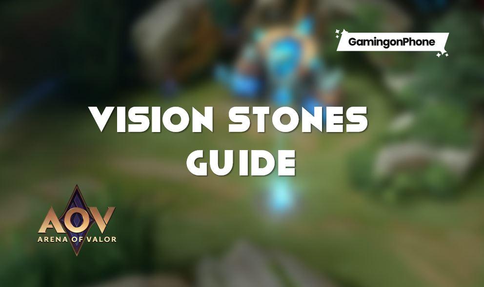 Arena of Valor vision stones, aov vision stones