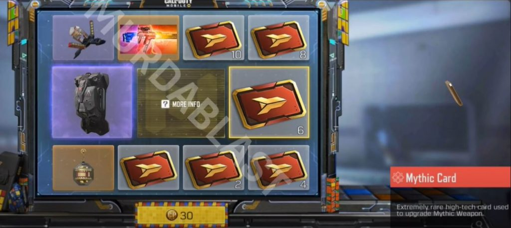 COD Mobile Mythical Lucky Draw Easter Eggs