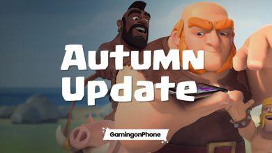 Clash of Clans Autumn 2020 Update, coc update, coc autumn update