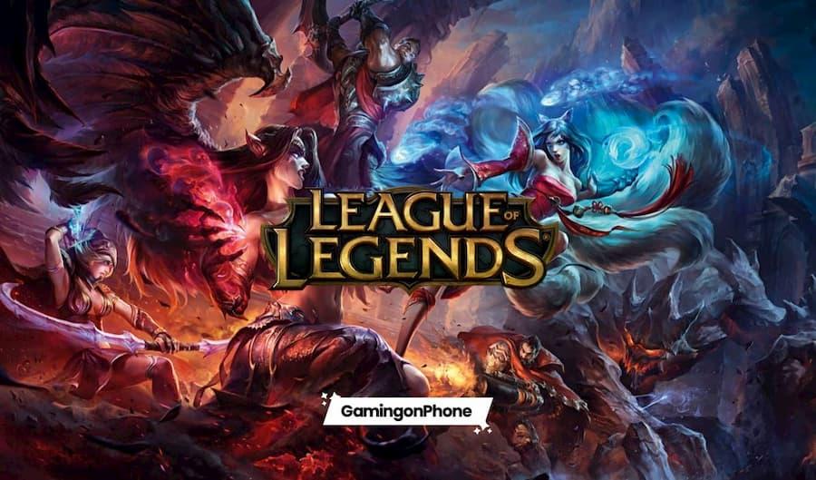 league of legends mobile games