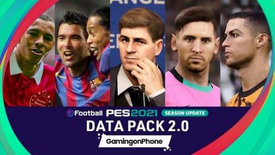 Photo of eFootball PES 2021: Datapack 2.0 update overview