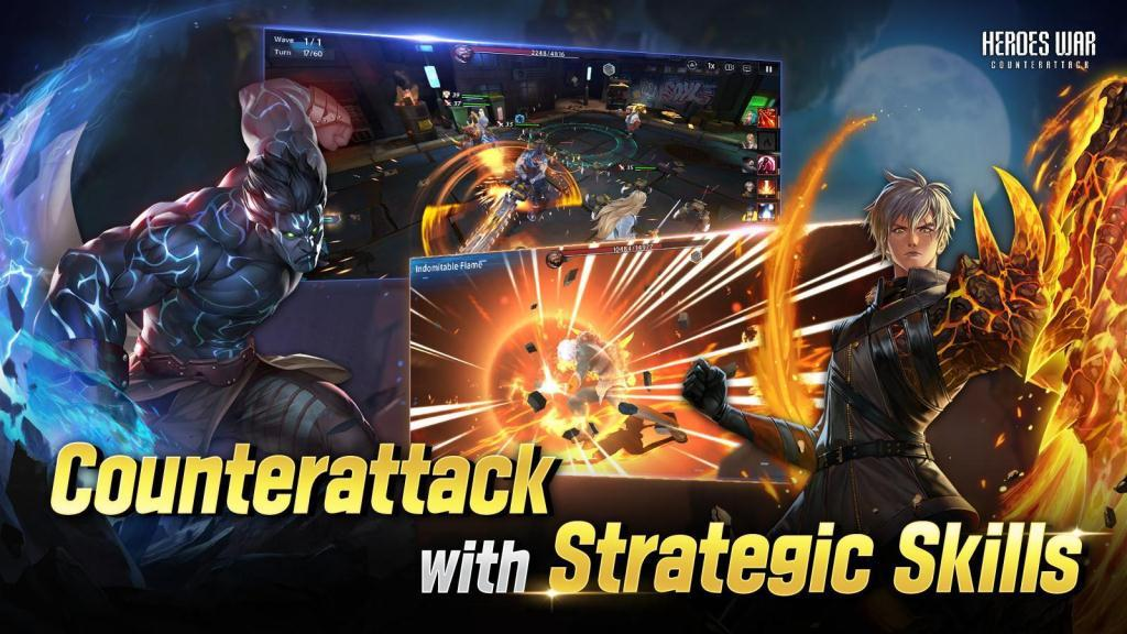 Heroes War Counterattack release