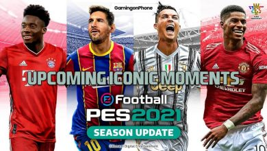 PES 2021 Iconic Moments list