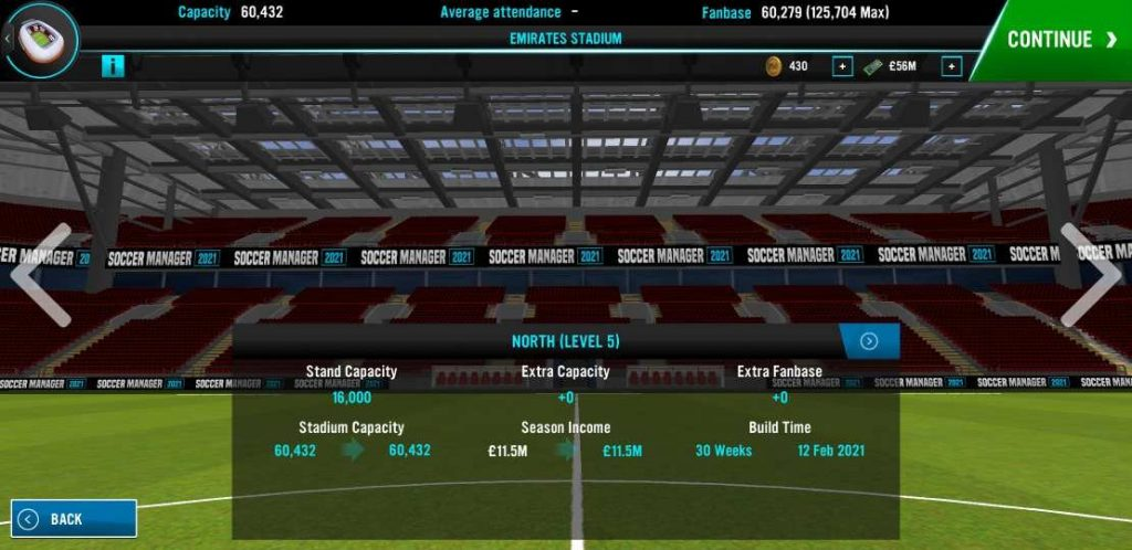 Soccer Manager 2021 boost income