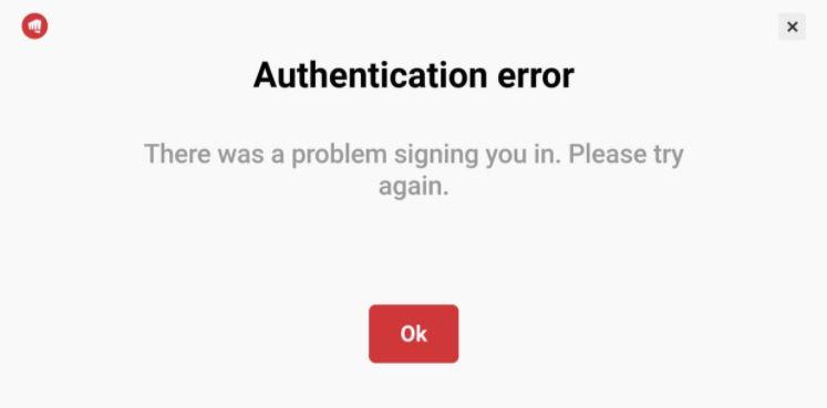 wild rift authentication error, Wild rift common errors