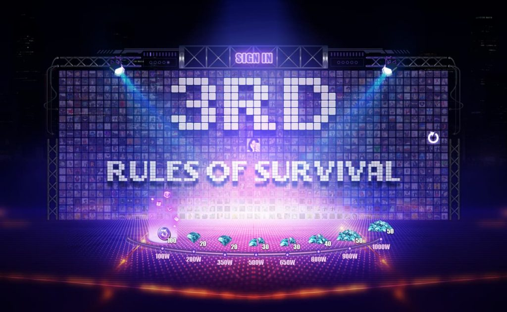 Rules of Survival Third Anniversary