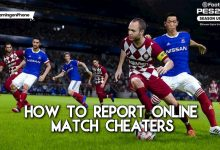 PES 2021 how to report online match cheaters