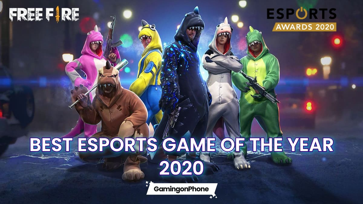 Free Fire Best esports mobile game 2020