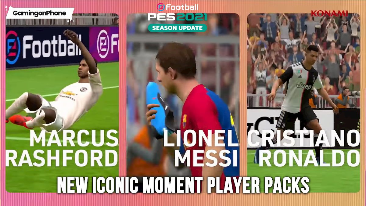 PES 2021 Iconic Moment Player packs