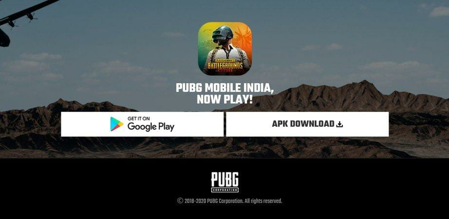 PUBG Mobile India testing APK download link