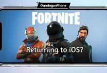 Fortnite return to iOS geforce now