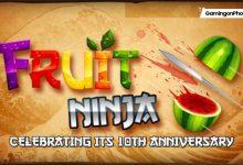 Fruit Ninja 10th anniversary