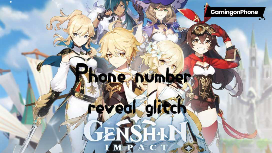 Genshin Impact players' phone numbers glitch
