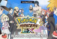 Pokemon Masters Ex Reward adjustments