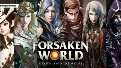 Forsaken World Gods and Demons
