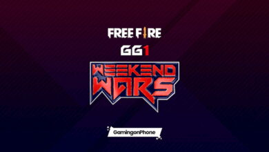 GG1 Free Fire Weekend Wars