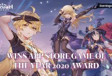 Genshin Impact App Store Game of the Year 2020